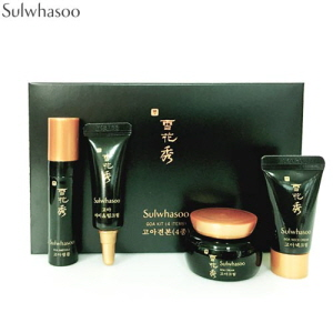 [mini] SULWHASOO Goa Kit 4items (Ampoule 3.5ml + Eye & Lip Cream 3ml + Cream 5ml + Neck Cream 5ml),SULWHASOO